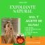 Exfoliante natural de Miel y aceite de oliva